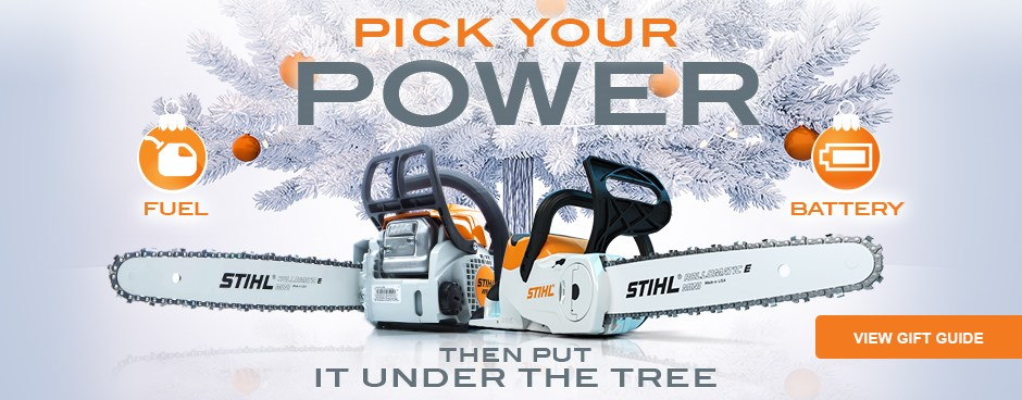 Pick Your Power - Shop STIHL Gift Guide